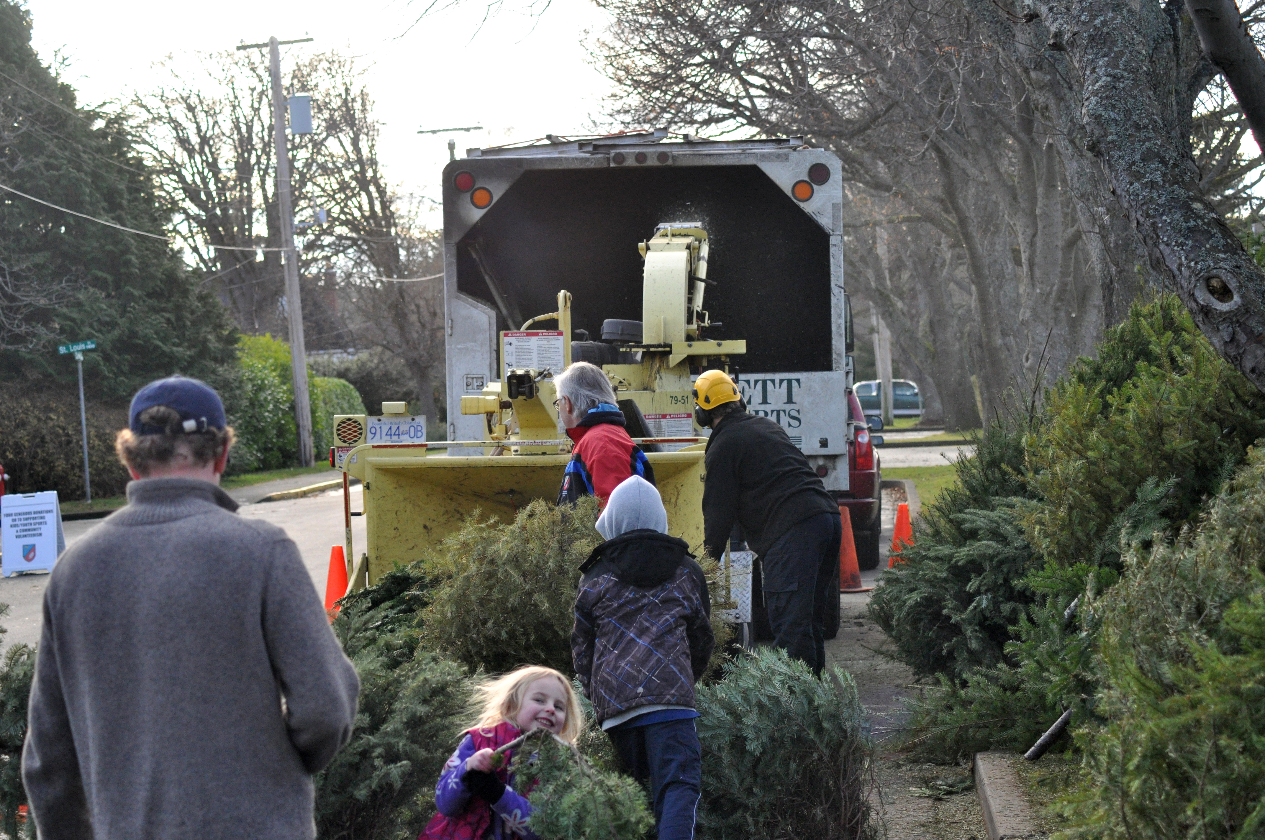 Annual Tree Chipping Fundraiser - Image 1