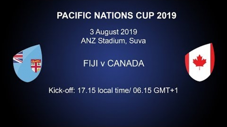 Pacific Nations Cup 2019 - Fiji v Canada