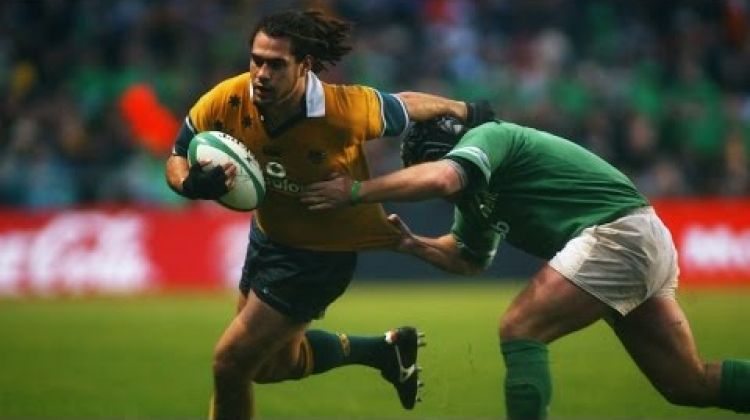 Wallabies' George Smith: Amazing Tries And Amazing Hair!