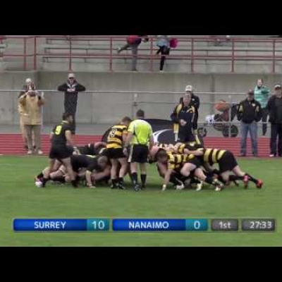 Men's Div 1 - Surrey Beavers AA vs Nanaimo Hornets RC