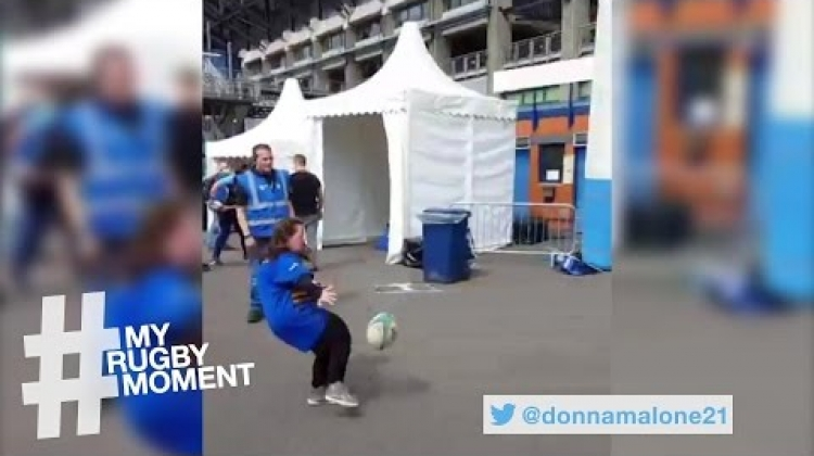 Young Jennifer kicks her way to Women's Rugby prize! | #MyRugbyMoment