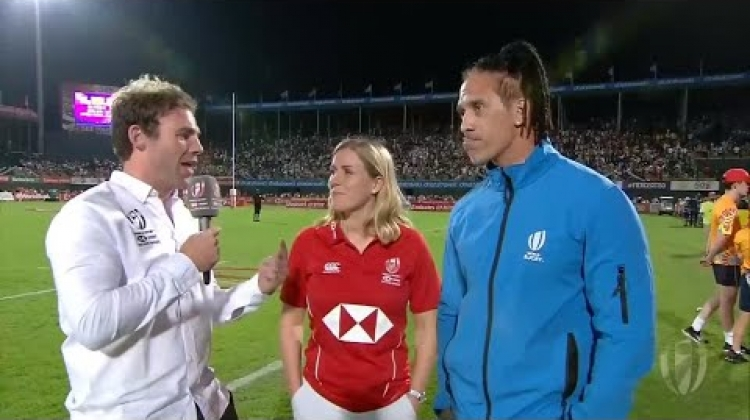 Vickerman, Tenana and Waterman review day two at the Dubai Sevens
