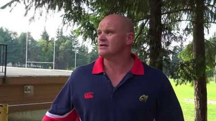 Gordon McIlwham - Scotland prop now helping to coach in Nanaimo on Vancouver Island