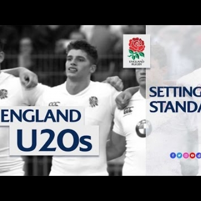 Setting the standard: England U20s