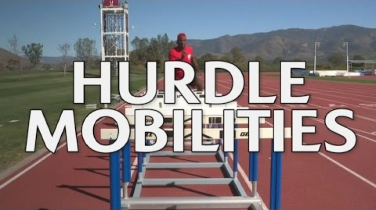 Carlin Isles rugby tips - Hurdling for mobile hips