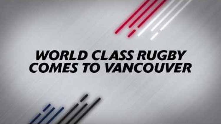 WORLD CLASS RUGBY COMES TO VANCOUVER HALLOWEEN 2020