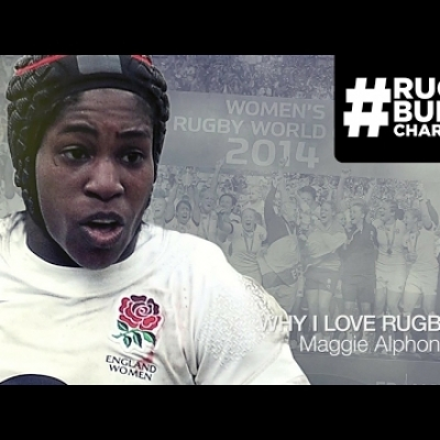Hall of Famer Maggie Alphonsi | Why I Love Rugby