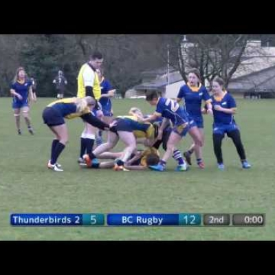 Thunderbirds v BC Rugby (Open Women)