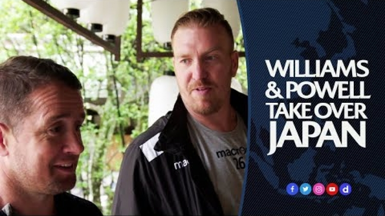 Shane Williams and Andy Powell are Big in Japan