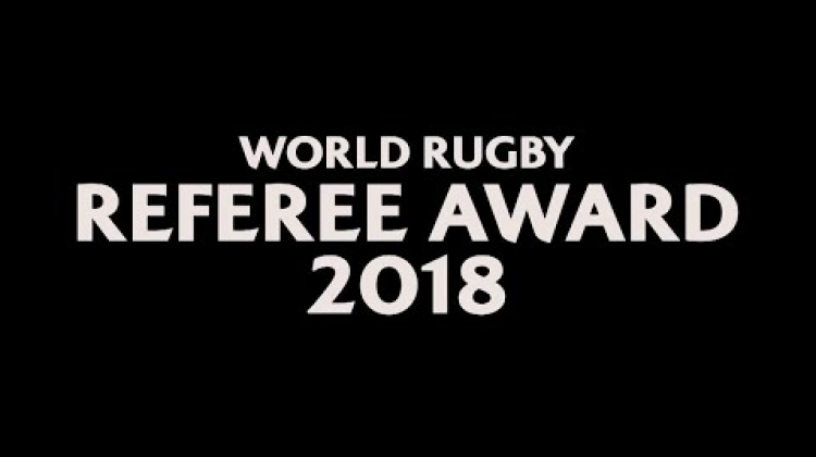 Angus Gardner wins World Rugby Referee Award