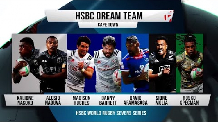 Seven stars picked for Dream Team in Cape Town