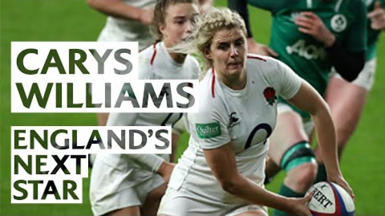 Carys Williams on living her England dream