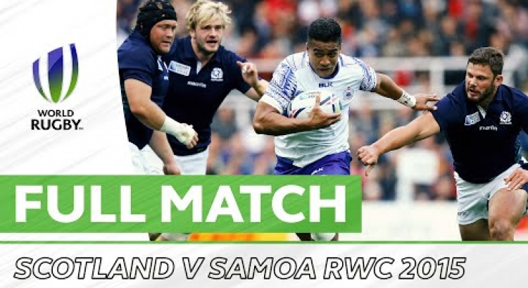 Rugby World Cup 2015: Scotland v Samoa