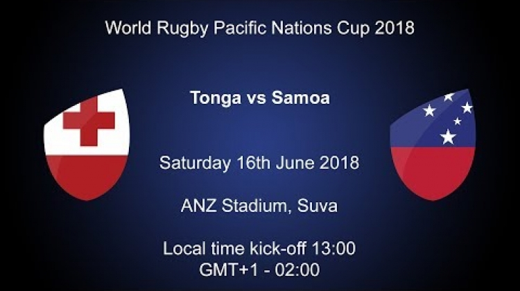Pacific Nations Cup 2018 - Tonga v Samoa