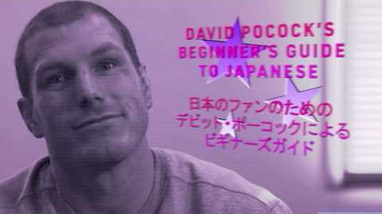 Learn Japanese with David Pocock