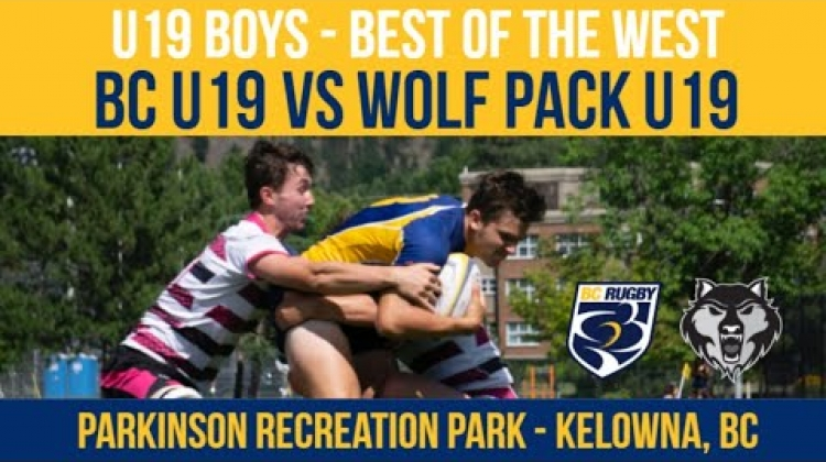 U19 Boys Best of the West - BC VS Wolf Pack