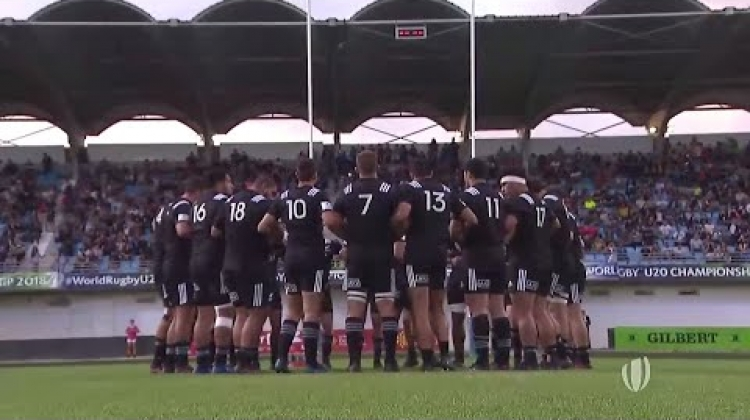 Insane HAKA at World Rugby U20 Championship
