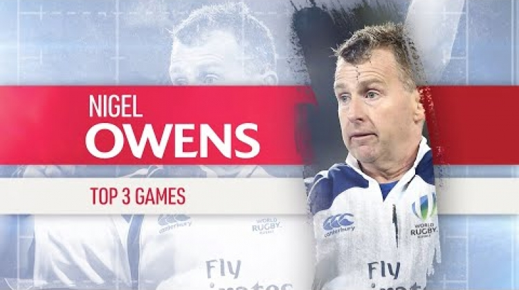 Nigel Owens ranks the best games of his career!
