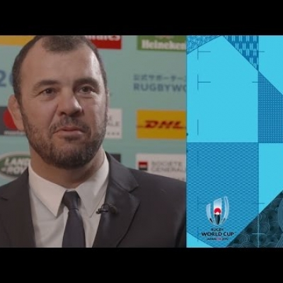 Australia coach Michael Cheika reaction to Rugby World Cup draw