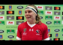 2017 Women's Rugby World Cup - Canada vs Australie - Post match reaction