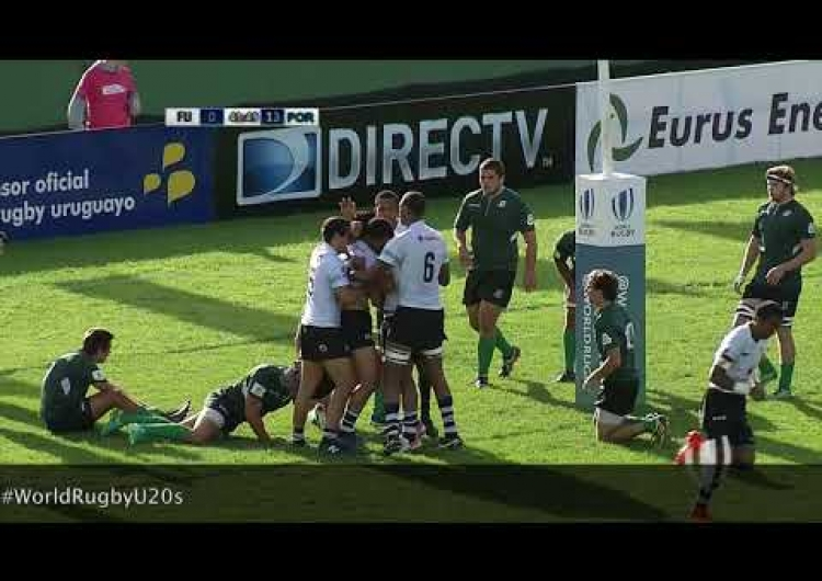 Highlights: Portugal continue their winning streak at World Rugby U20 Trophy