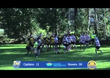 Rugby Highlights: Caps v Rowers, Feb 28, 2015
