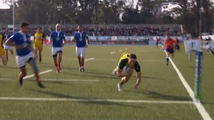 Nawaqanitawase scores the second fastest try in U20 final history