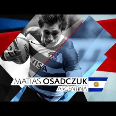 Matias Osadczuk wins World Rugby Sevens Rookie of the Year 2016-17