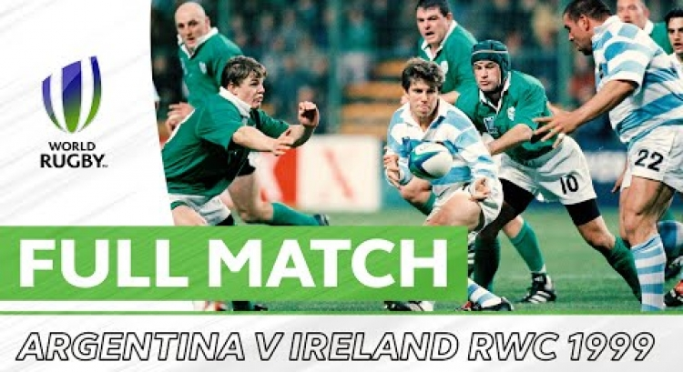 Rugby World Cup 1999 Quarter Final Play-Off: Argentina v Ireland