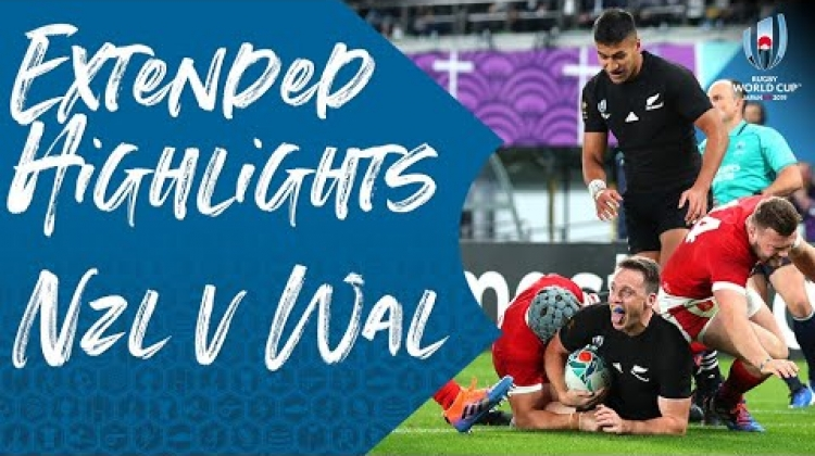Extended Highlights: New Zealand v Wales - Rugby World Cup 2019