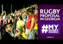 Best rugby proposal ever? #MyRugbyMoment