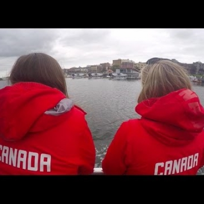 Canada's women's sevens team goes whale watching