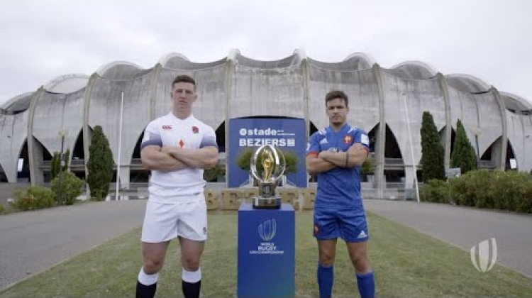 World Rugby U20 Championship Final | England v France