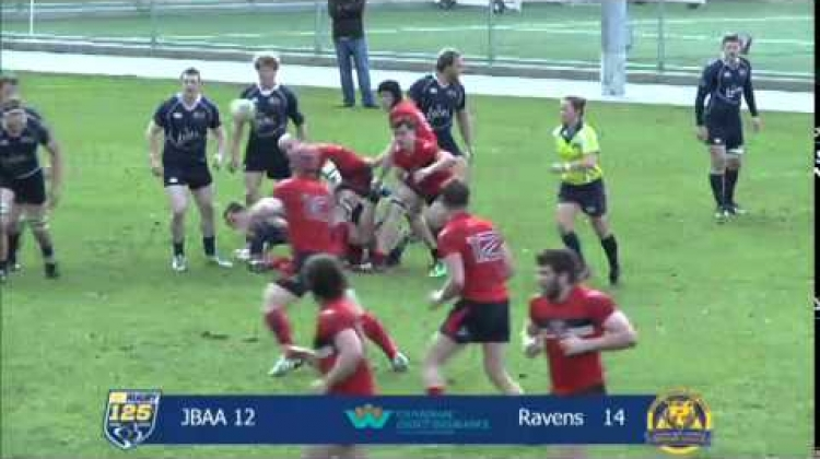 UBCOB Ravens vs James Bay AA - March 21, 2015