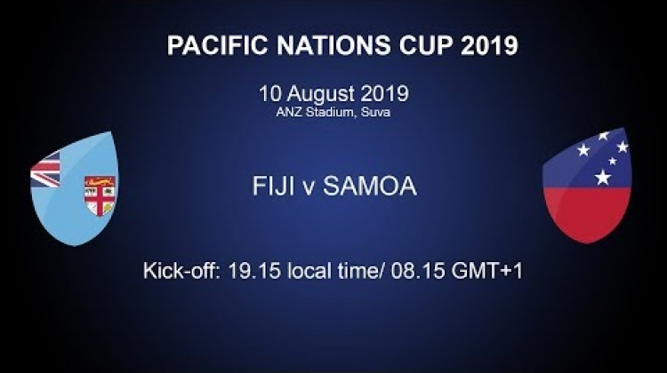 Pacific Nations Cup 2019 - Fiji v Samoa