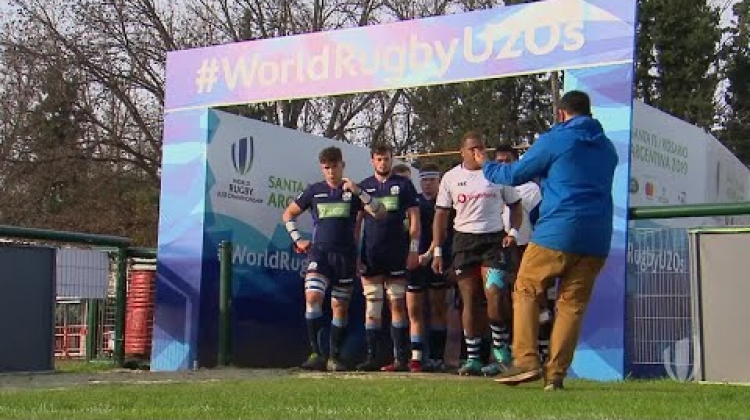 U20s highlights: Fiji avoid relegation with win over Scotland