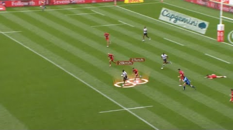 Foot Race at the New Zealand Sevens