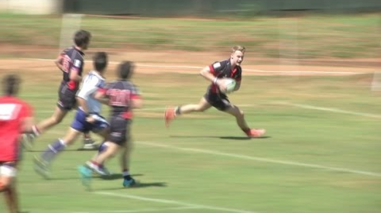 Powerful Worley: GLORIOUS try by Hong Kong in the U20 Trophy