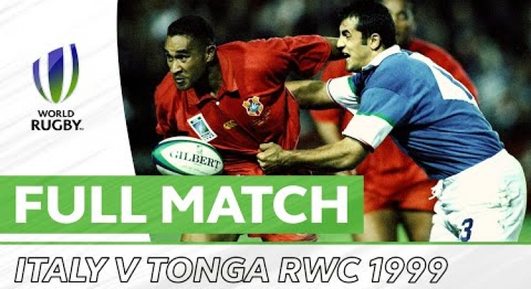 Rugby World Cup 1999 - Italy v Tonga