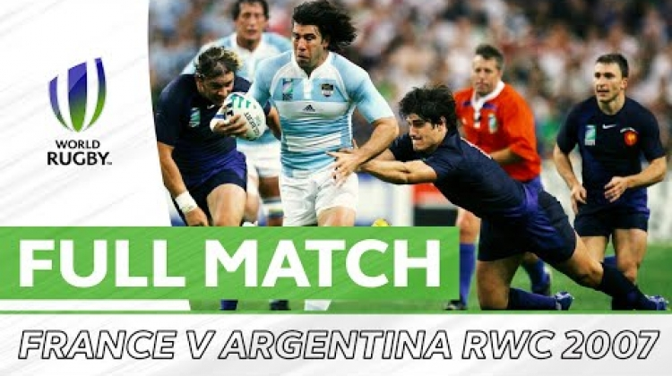 Rugby World Cup 2007: Third Place Playoff - France v Argentina