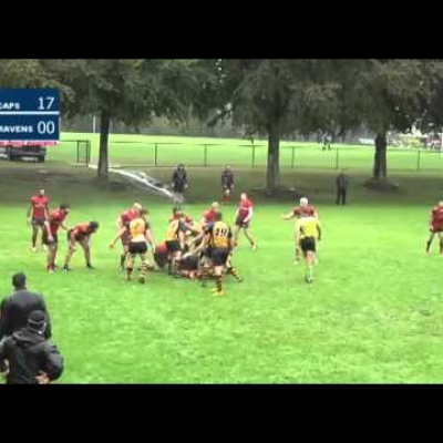 Rugby highlights: Ravens at Capilano - Sept 19, 2015
