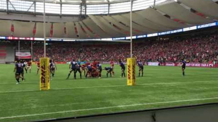Final minute of Canada vs Japan at BC Place - June 11, 2016