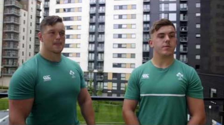 Ireland U20 front rows take on the 20:20 challenge