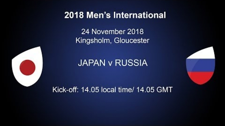 Japan v Russia LIVE from Gloucester! (French Commentary)