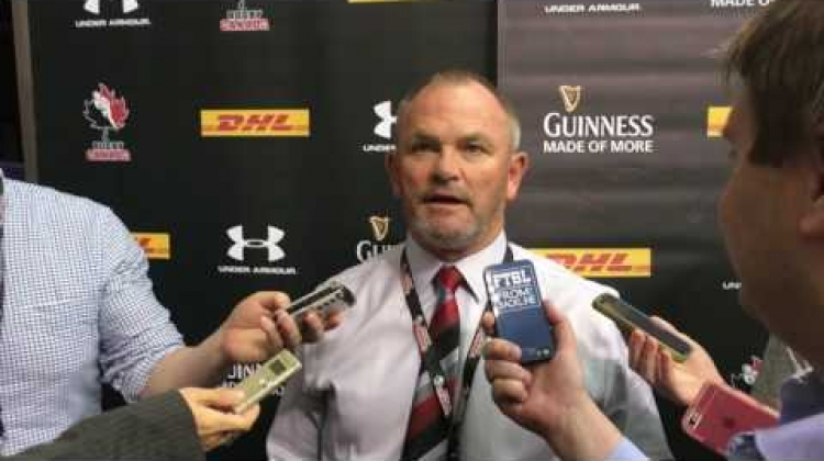 Canada vs Japan, post-game interview with Coach Mark Anscombe