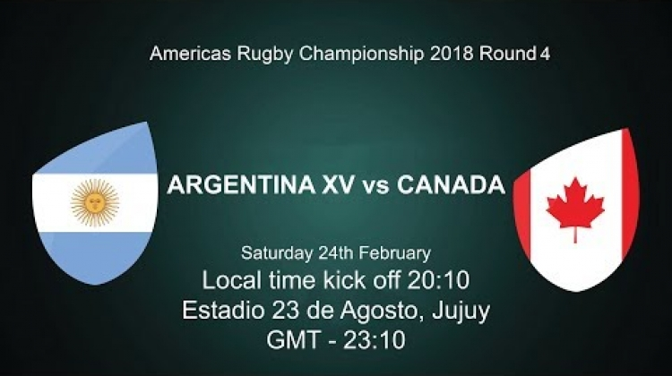 2018 Americas Rugby Championship - Argentina XV v Canada