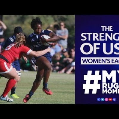 USA Women's Eagle Jamila Reinhardt: Why you should play rugby | #MyRugbyMoment