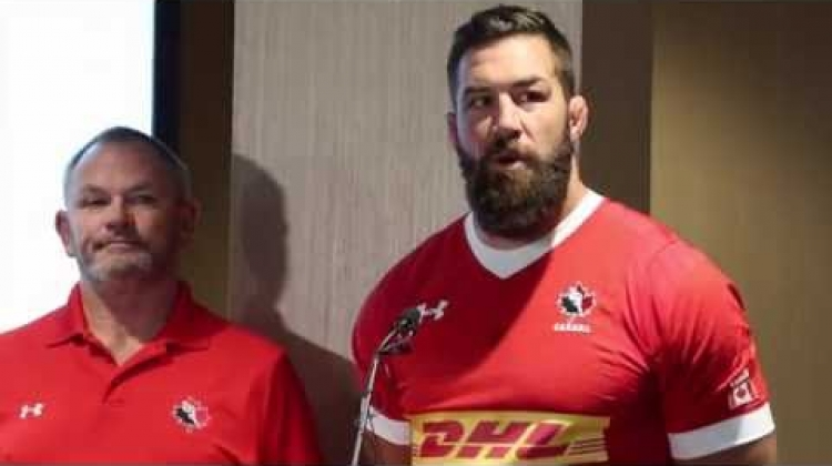 Canada vs. Russia - RISEAsOne Summer Series - Canada Press Conference