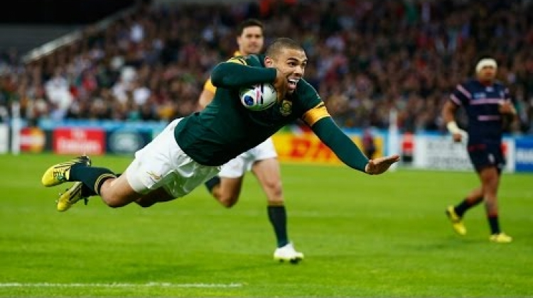 Bryan Habana's Rugby World Cup Record!