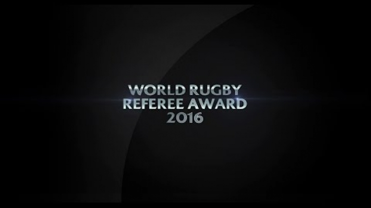 Referee of the Year | World Rugby Award Nominees 2016
